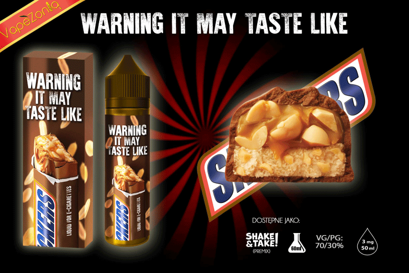 Amazing Flavours Snikers eliquid