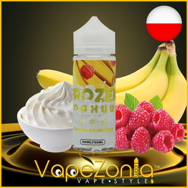 Frozen Yoghurt BANANA RASPBERRY 100 ml