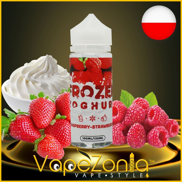 Frozen Yoghurt RASPBERRY STRAWBERRY 100 ml
