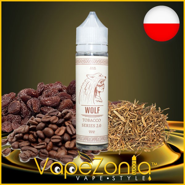 Tobacco Indian Liquid WOLF 50 ml