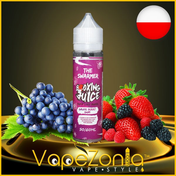 Boxing Juice GRAPE BERRY GUM 50 ml