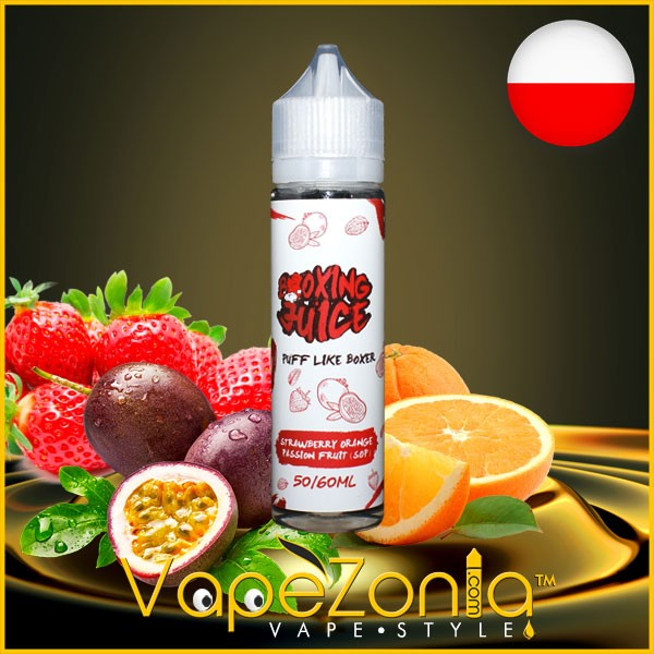 Boxing Juice STRAWBERRY ORANGE PASSION FRUIT 50 ml