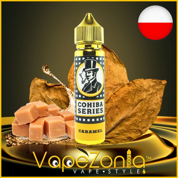 Cohiba Series eliquid CARAMEL 50 ml