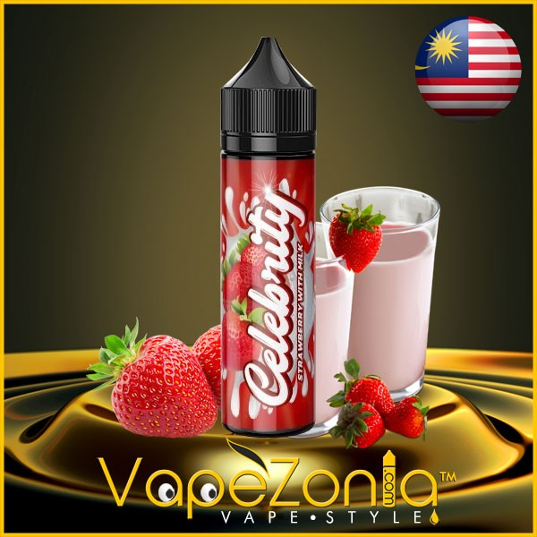 Celebrity Liquids STRAWBERRY WITH MILK 50 ml