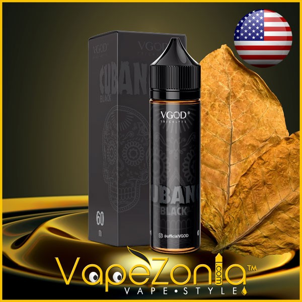 CUBANO BLACK de VGOD eJuice 50 ml