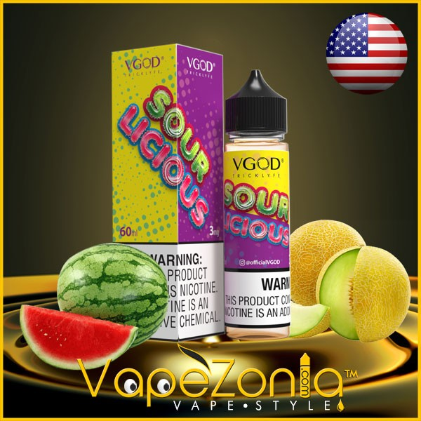Sourlicious eJuice de VGOD 50 ml