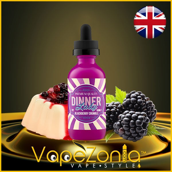 Dinner Lady BLACKBERRY CRUMBLE 50 ml