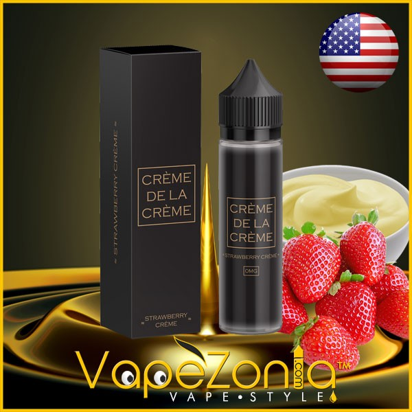 Creme De La Creme eliquid STRAWBERRY CREME 50 ml