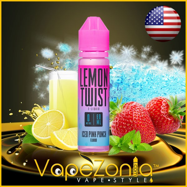 LEMON TWIST Iced PINK PUNCH 50 ml