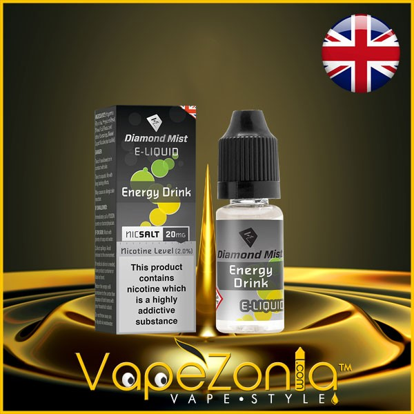 Diamond Mist e liquid Nic Salt ENERGY DRINK 20 mg - 10 ml