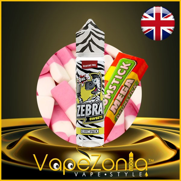 DRUMSTICK Zebra Sweetz Juice 50 ml
