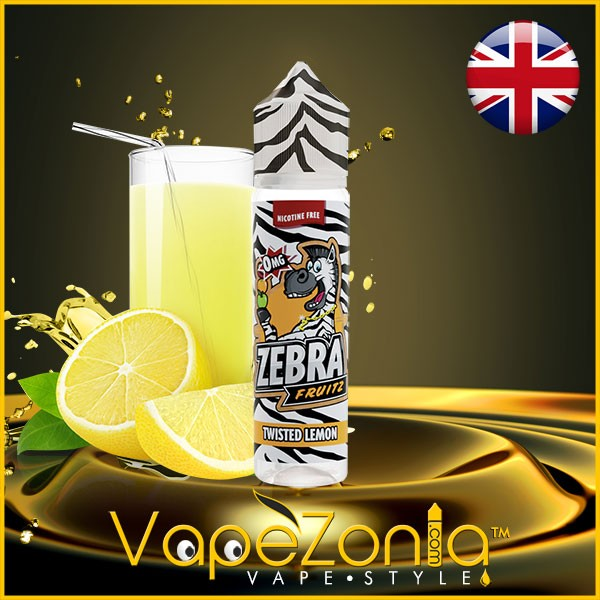 TWISTED LEMON Zebra Juice eliquid 50 ml