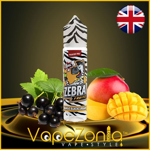 MANGO BLACKCURRANT Zebra Fruitz Juice 50 ml