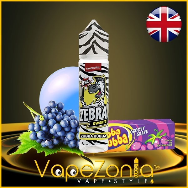 ZUBBA BUBBA Zebra eliquid Juice 50 ml