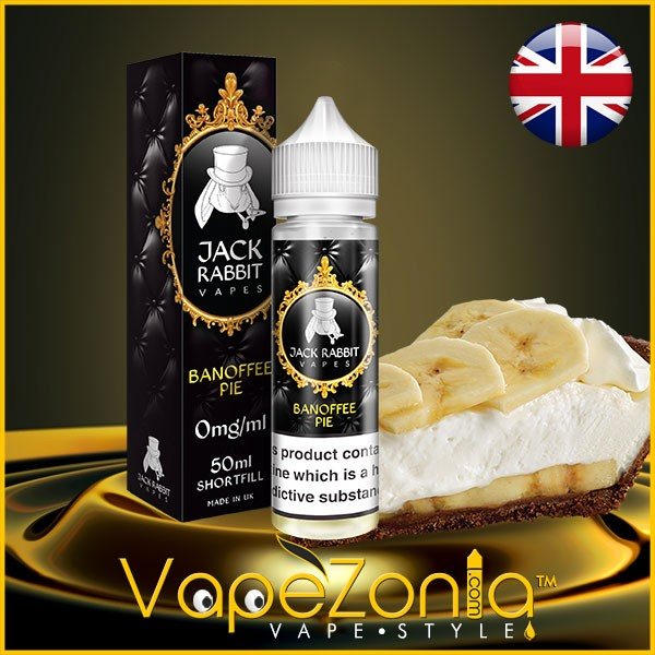 Jack Rabbit Vapes eliquid BANOFFEE PIE 50 ml