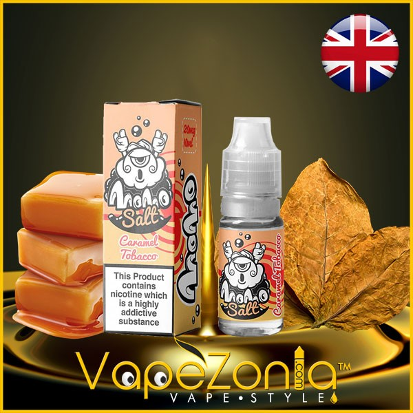 Momo Salt CARAMEL TOBACCO 10 ml 20 mg