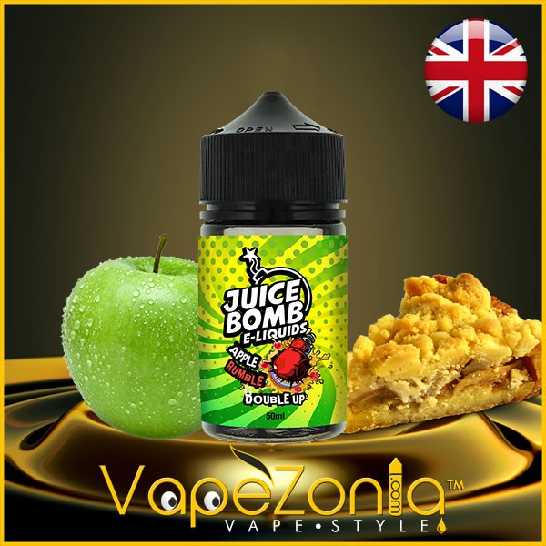Juice Bomb e liquid APPLE RUMBLE 50 ml vape shop Valencia