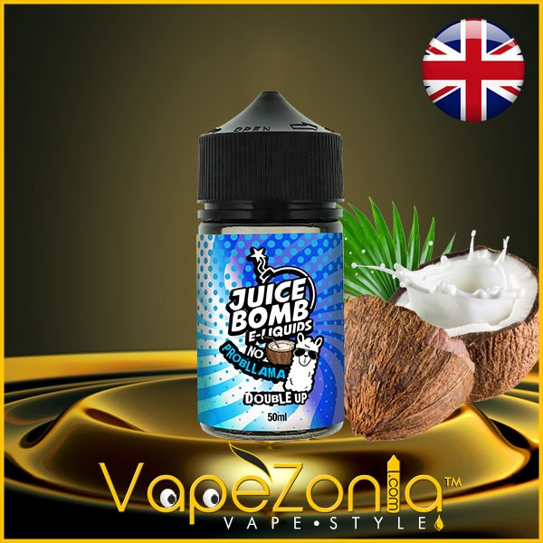 Juice Bomb e liquids NO PROBLLAMA 50 ml vape shop Madrid