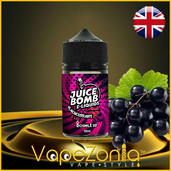 Juice Bomb e liquids BLACKCURRANT 50 ml vape shop Madrid