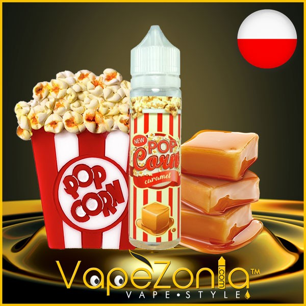 Pop Corn e liquid CARAMEL 50 ml vape shop Barcelona