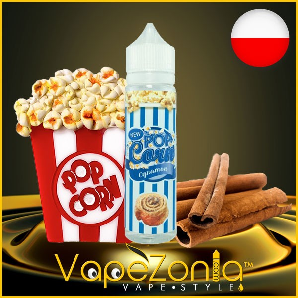 Pop Corn e liquid CYNAMON 50 ml vape shop Barcelona