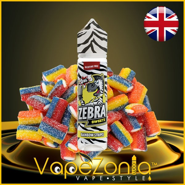 Zebra Sweetz Juice RAINBOW STRIPES 50 ml vape shop