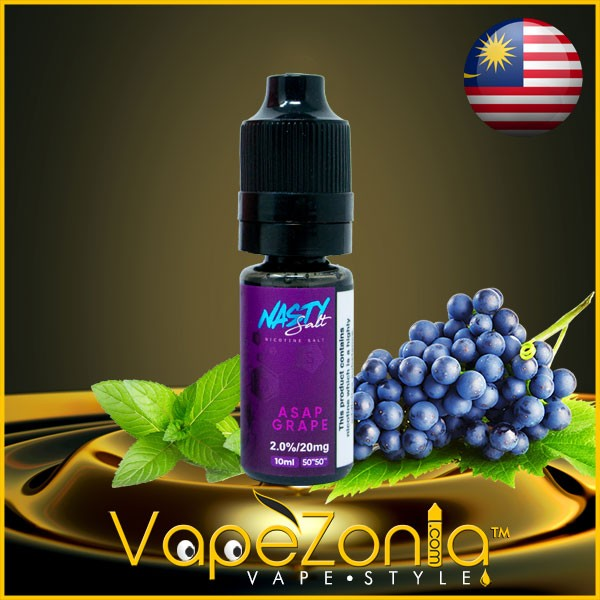 Nasty Salt ASAP GRAPE 10 ml sales de nicotina