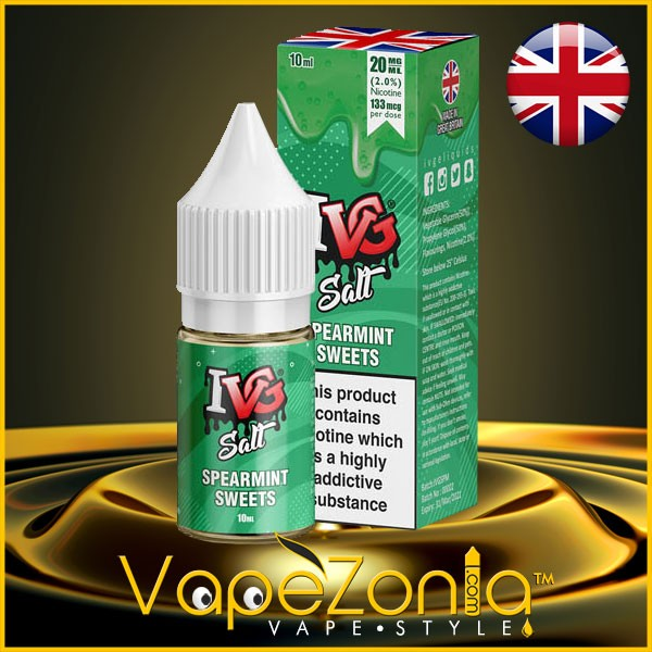 I VG Salt SPEARMINT SWEETS 10 ml vape shop Valencia