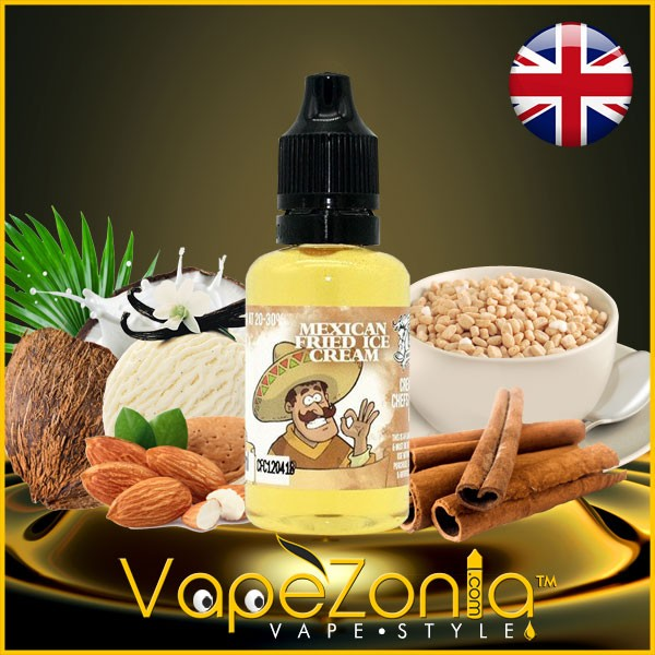 Aromas Chefs Flavours MEXICAN FRIED ICE CREAM 30ml vape shop Valencia