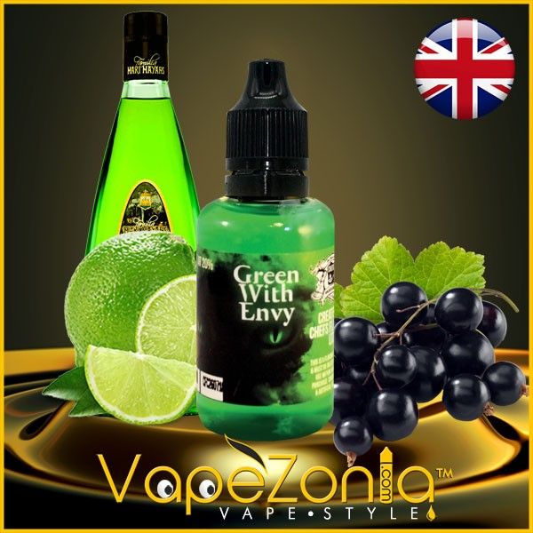 Aromas Chefs Flavours GREEN WITH ENVY 30ml vape shop France