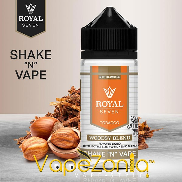 Royal Seven by Halo WOODSY BLEND 50 ml vape shop
