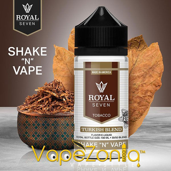 Royal Seven by Halo TURKISH BLEND 50 ml vape shop