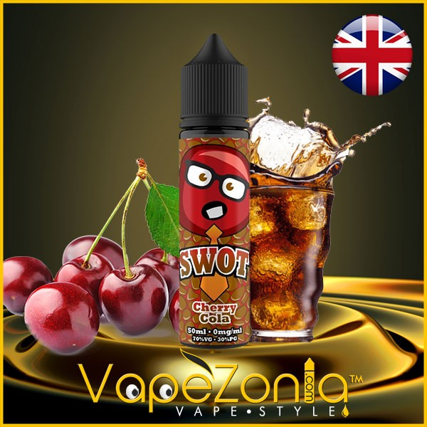 Swot e liquid CHERRY COLA 50 ml vape shop