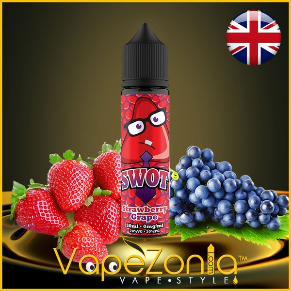 Swot e liquid STRAWBERRY GRAPE 50 ml vape shop