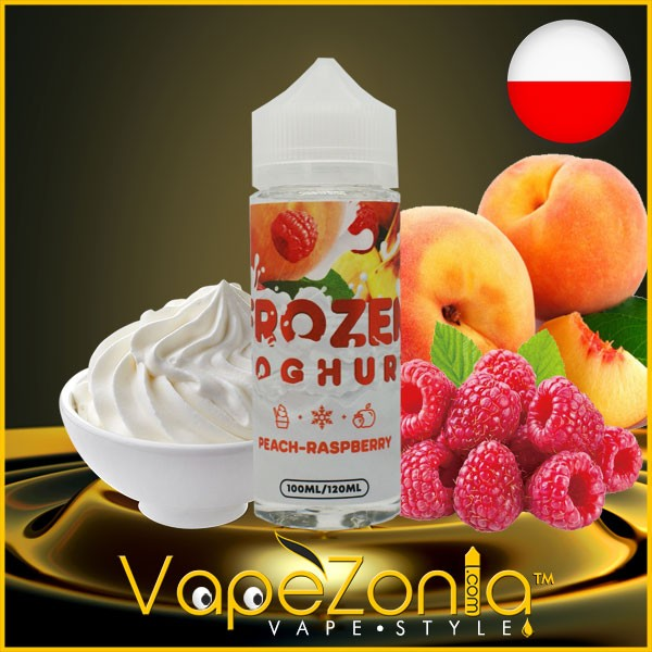 Frozen Yoghurt PEACH RASPBERRY 100 ml
