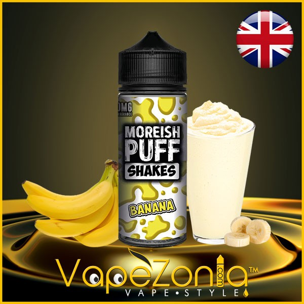 Moreish Puff Shakes BANANA 100 ml