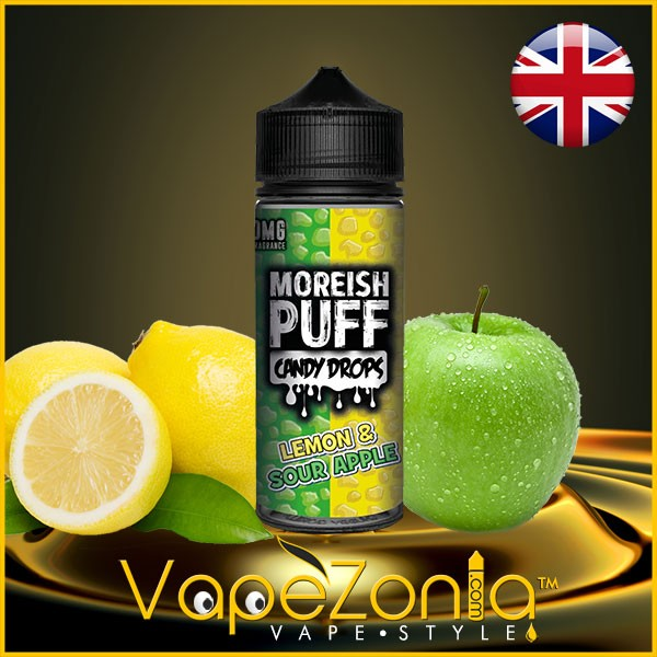 Moreish Puff Candy LEMON & SOUR APPLE 100 ml