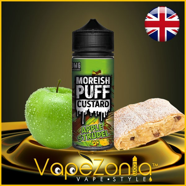 Moreish Puff Custard APPLE STRUDEL 100 ml