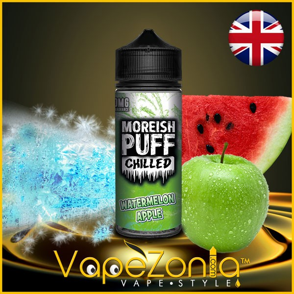 Moreish Puff Chilled Watermelon Apple 100 ml
