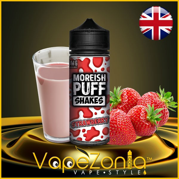 Moreish Puff Shakes STRAWBERRY 100 ml