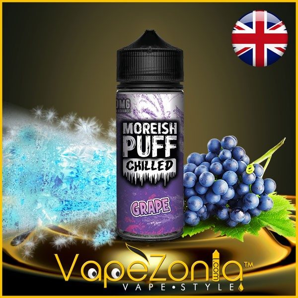 Moreish Puff Chilled GRAPE 100 ml