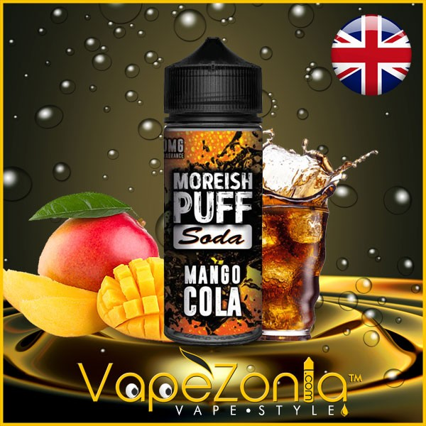 Moreish Puff Soda MANGO COLA 100 ml