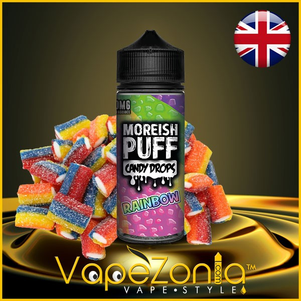 Moreish Puff Candy Drops RAINBOW 100 ml