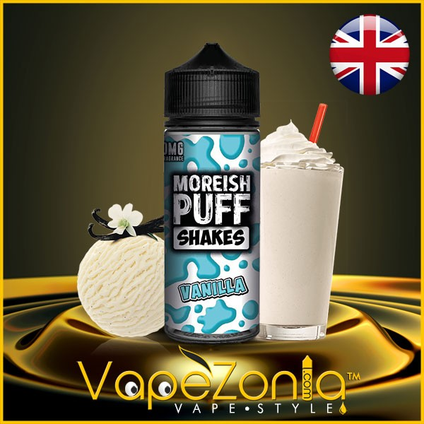 Moreish Puff Shakes VANILLA 100 ml
