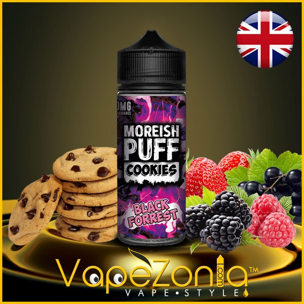 Moreish Puff Cookies BLACK FORREST 100 ml