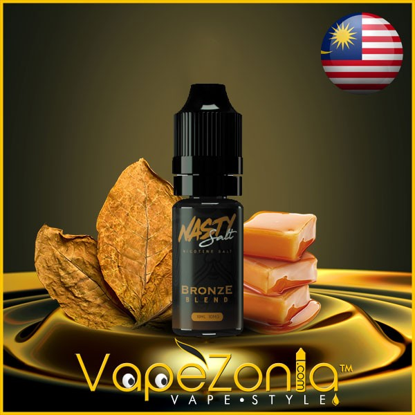 Nasty Salt BRONZE BLEND 10 ml sales de nicotina
