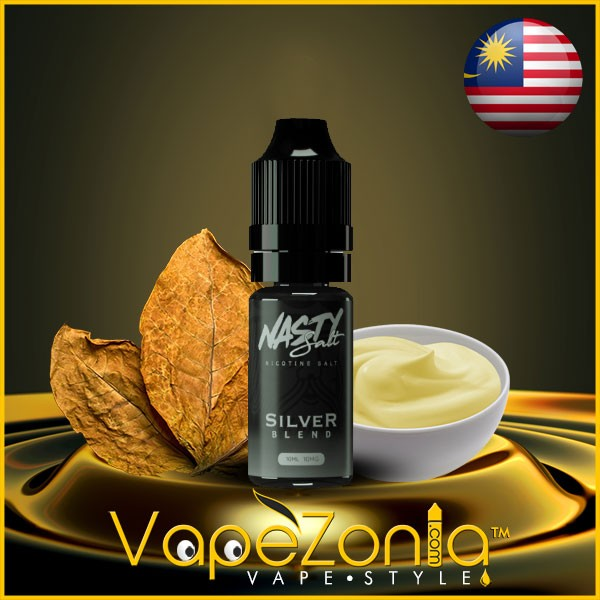 Nasty Salt SILVER BLEND 10 ml sales de nicotina