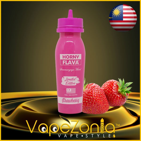 Horny Flava STRAWBERRY 100 ml vape shop Barcelona