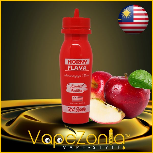 Horny Flava RED APPLE 100 ml vape shop on line