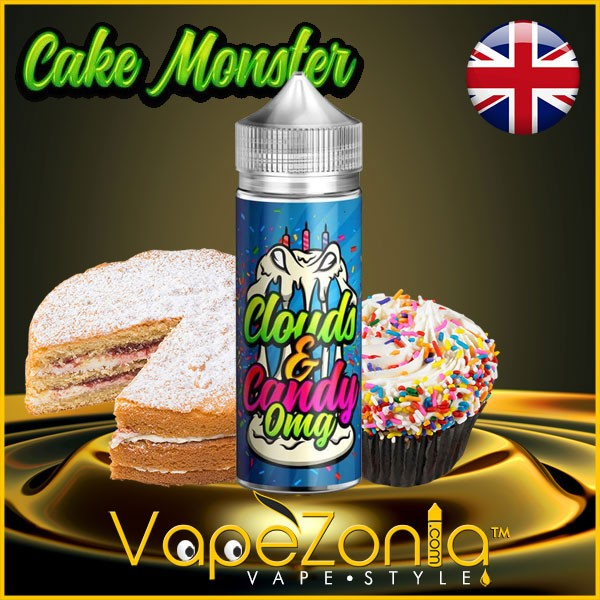 CLOUDS & CANDY CAKE MONSTER 100 ml vape shop